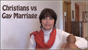 christians anti gay marriage
