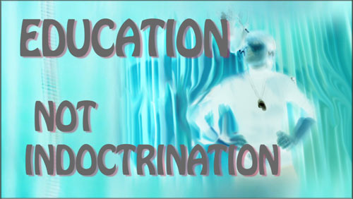 Education Not Indoctrination - heavy techno music, political rap, political music