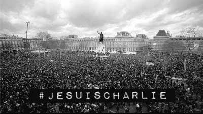 he suis Charlie - city of Paris
