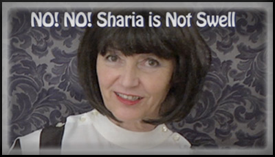 Joan Wiggins - No, No. Sharia is Not Swell