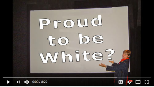 proud to be white, European