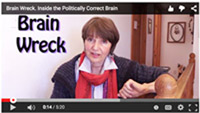 politically correct, brain wrecked
