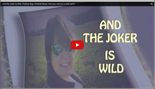 Video - And the Joker is Wild - political rap, political music