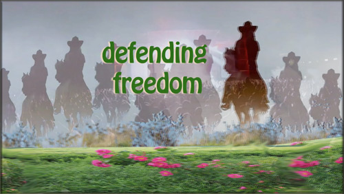 We've Just Begun - defending freedom!