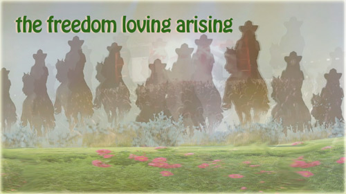 We've Just Begun - the freedom loving arising